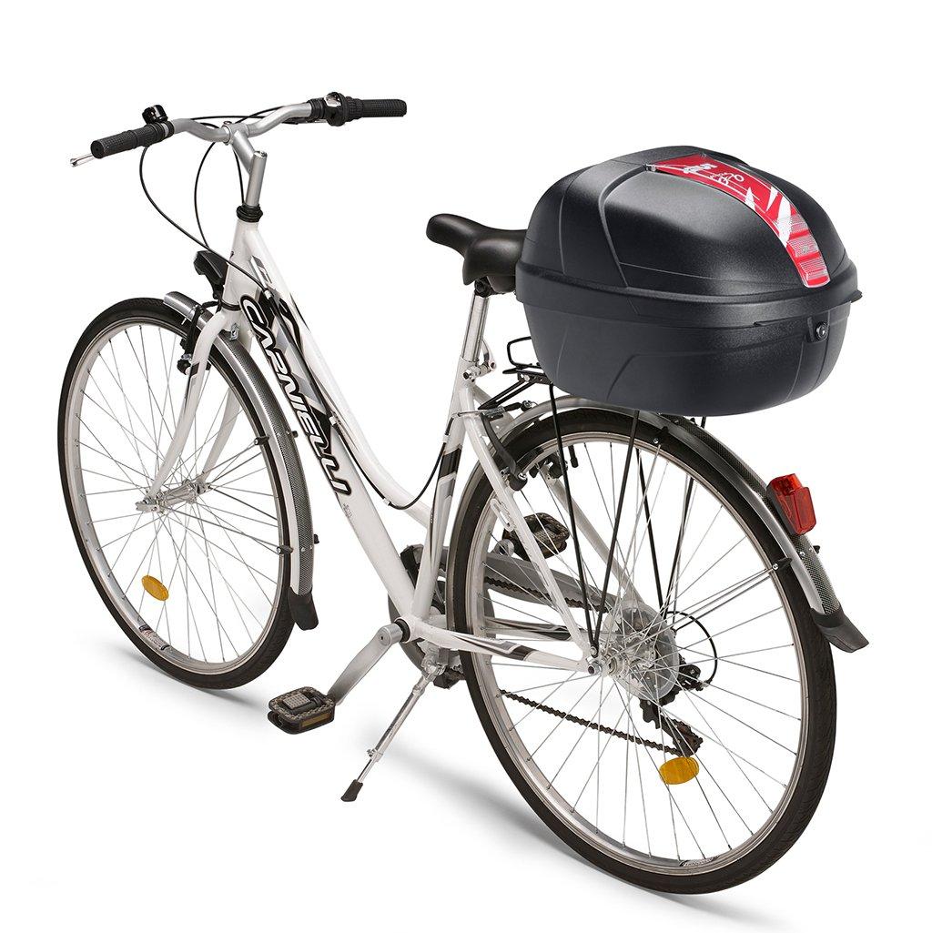 Fahrrad-Topcase Bici 25 Ltr schwarz uni