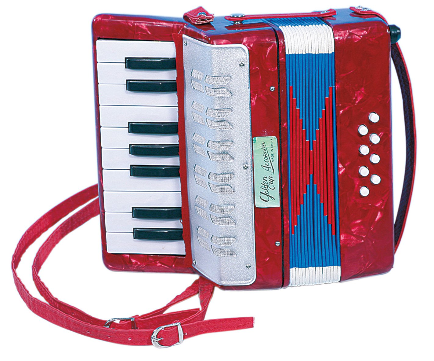 ahorra hasta un 30-50% de descuento Niños Acordeón Armónica Zieharmonica de madera 17 teclas teclas teclas  gran descuento