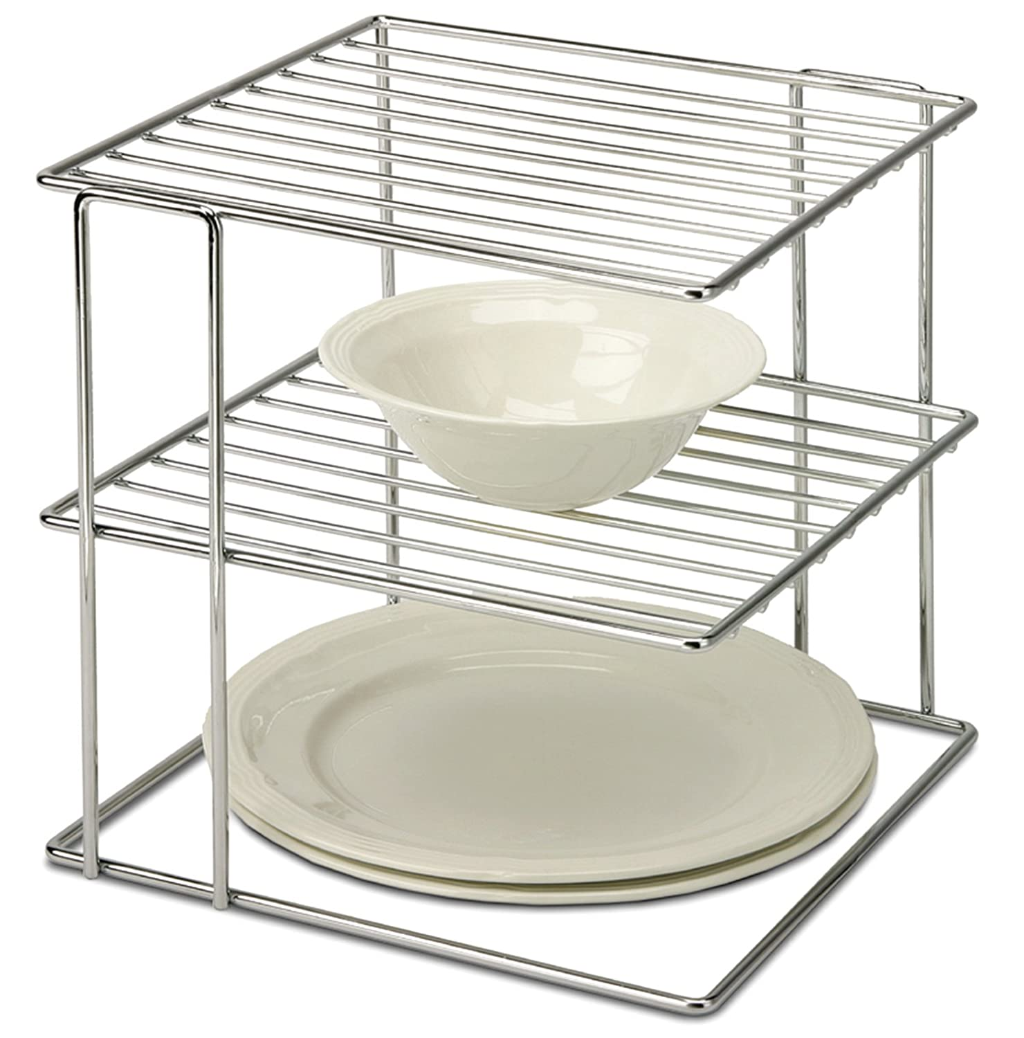 Kitchen Organizer Racks Amazon organize it all chrome kitchen corner shelf organizer amazon organize it all chrome kitchen corner shelf organizer cabinet organizers workwithnaturefo