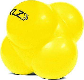 Sklz sV6 - Pelota de reacción, color amarillo: Amazon.es: Salud y ...