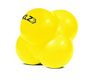 Sklz sV6 - Pelota de reacción, color amarillo: Amazon.es: Salud y ...