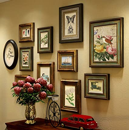 Amazoncom Multi Picture Photo Frames Diy Home Wall Decoration