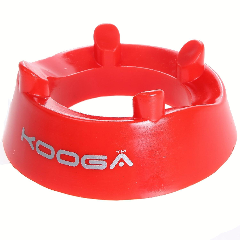 Kooga anilla de soporte para balón de Rugby rojo de plástico ...