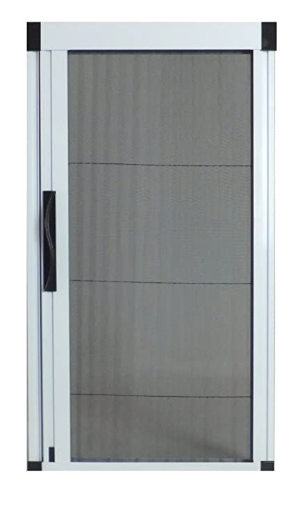 Wonderful Greenweb Retractable Screen Door 40 Inch By 84 Inch Kit