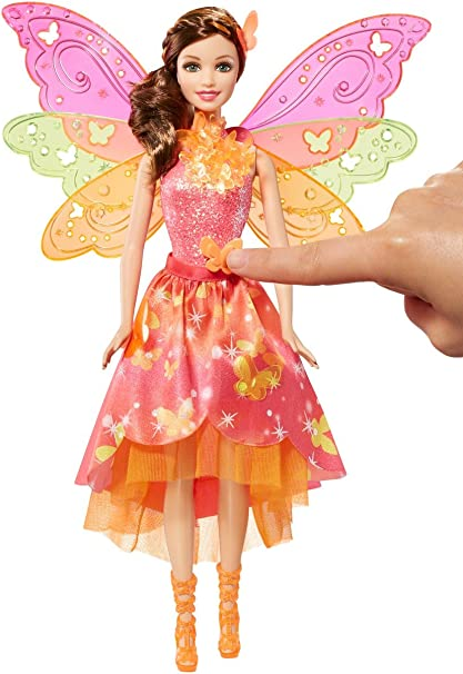 poupée barbie fée multicolore dhm55