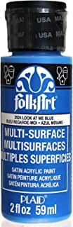 product image for FolkArt Multi-Surface Paint in Assorted Colors (2 oz), 2924, Look At Me Blue