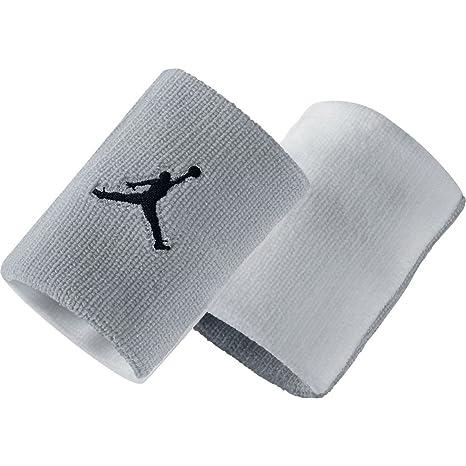 Nike Jordan Jumpman Polsino - Multicolore (Wolf Grey Bianco Nero) - Taglia 028fed06af25