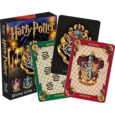 Aquarius Harry Potter Crests Playing Cards: Aquarius: Toys & Games