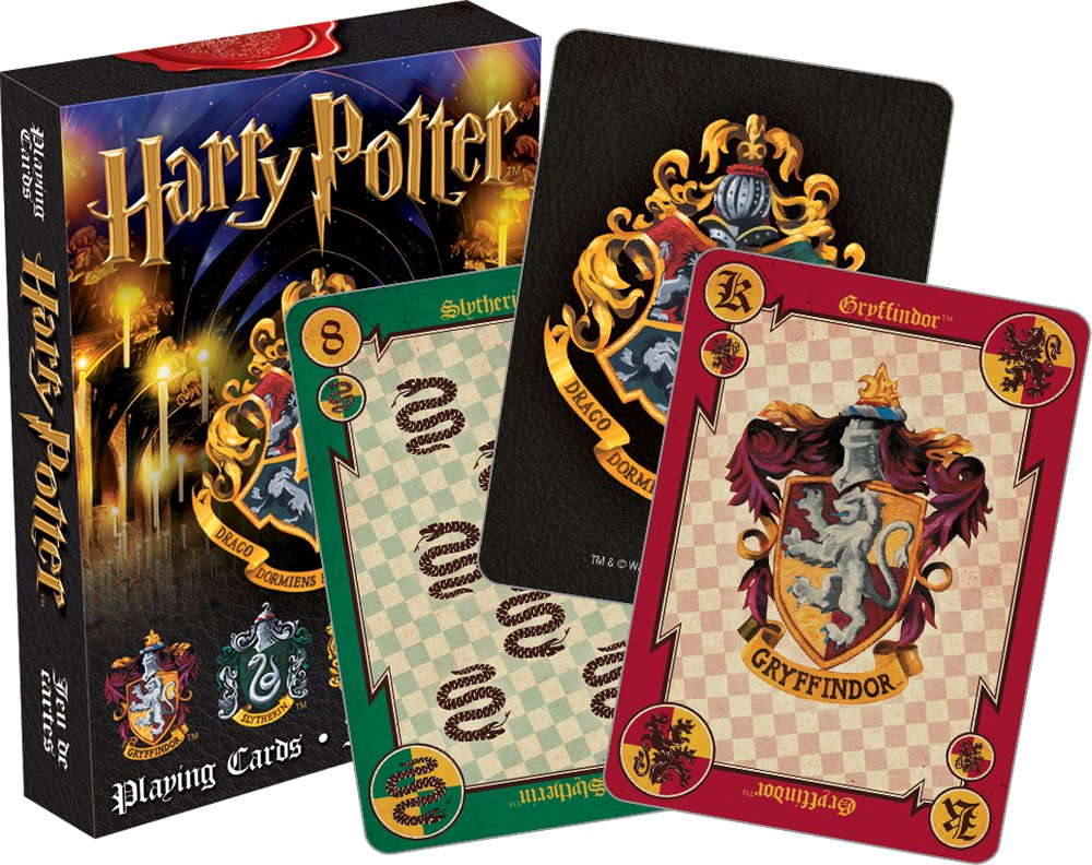 Aquarius Harry Potter Crests Playing Cards by Aquarius
