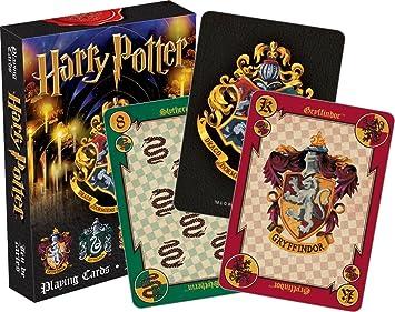 Aquarius Harry Potter Cresta Playing Cards Deck: Amazon.es ...