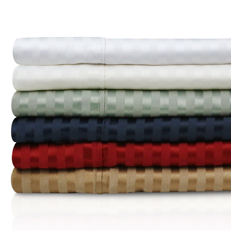 Amazon Com 300 Thread Count Cotton Pillowcase Set Olive Queen