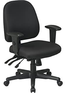 Office Star Multi Function Ergonomic Chair with Ratchet Back and Adjustable  Soft Padded Arms  BlackAmazon com  Office Star Multi Function Ergonomic Chair with  . Office Star Ergonomic Chair. Home Design Ideas