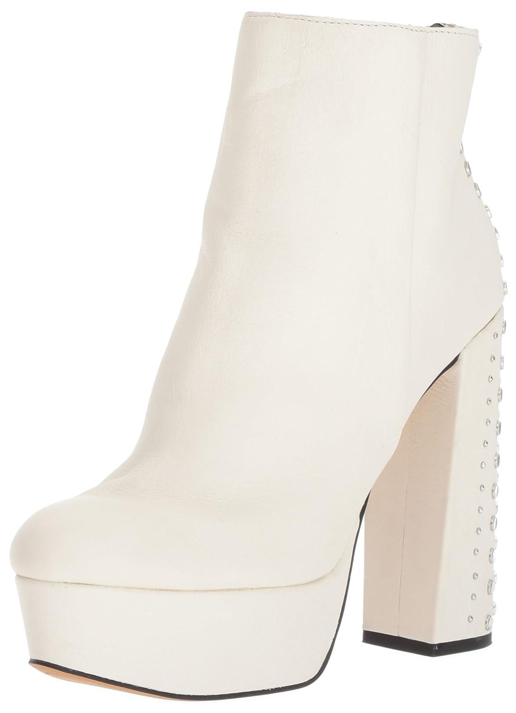 Dolce Vita Women's LIV Fashion Boot B072MGMC8J 7.5 B(M) US|Off White Leather