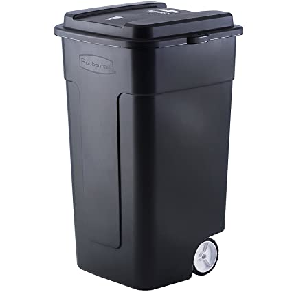 Amazon Com Rubbermaid Fg285100bla Roughneck Trash Can 50 Gal