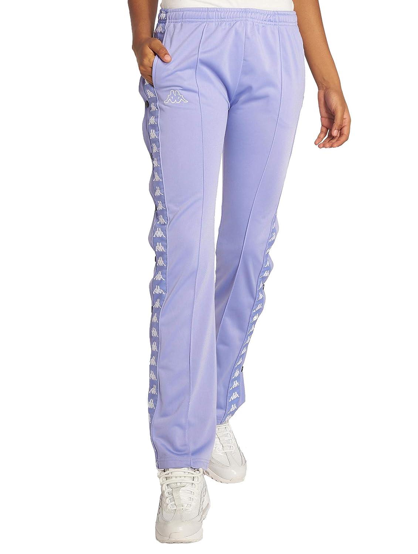 TALLA XS. Kappa Pantalones Wastoria Snaps Authentic Violet White