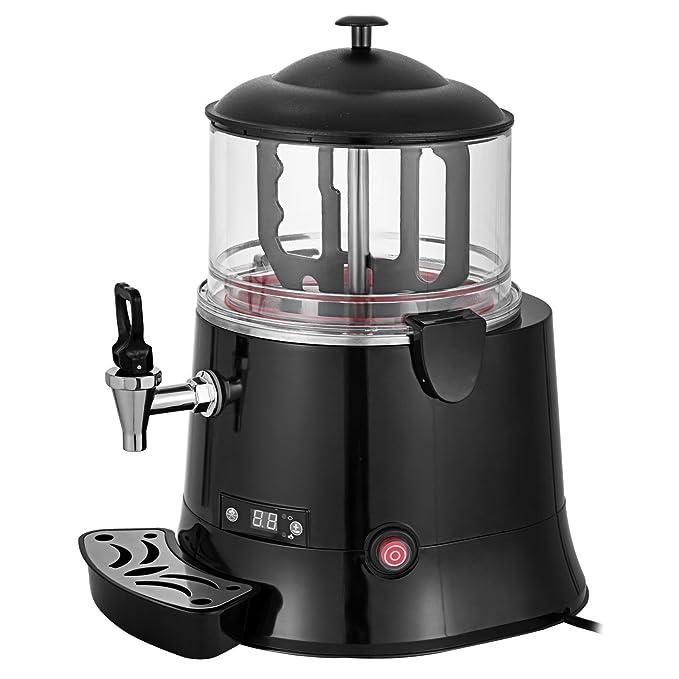 Cueffer 10L Dispensador de Chocolate Caliente 220V 400W Máquina Comercial de Chocolate Caliente para Hoteles, Restaurantes, Cafeterías, Chocolaterías, ...