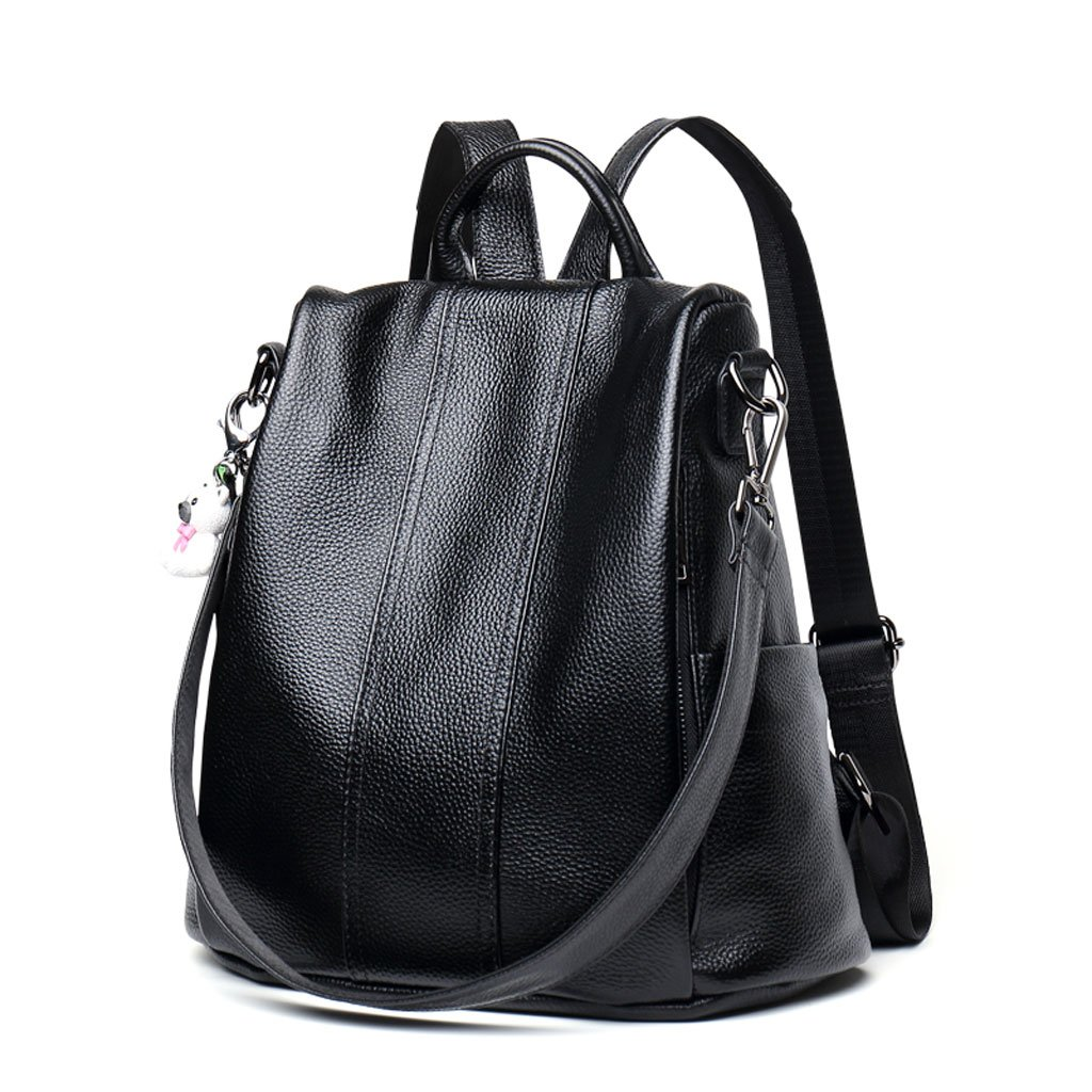 JMレザーショルダーバッグメス韓国スタイルファッションワイルドレザーバッグ大容量カジュアルソフトレザーバックパック(カラー: B)   B07FY4PNPN