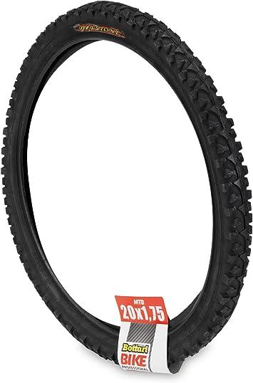 Bottari Bike Rubber - Cubierta para Bicicletas, Color Negro, Talla 20 x 1.75 C: Amazon.es: Deportes y aire libre