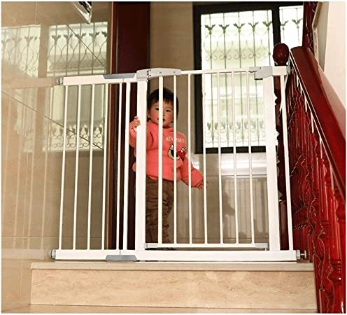 HONGAN Puerta De Bebé Mascota Perro Valla Niños Escalera Barandilla Puerta De Seguridad Escalera For Bebés Anti-caída Guardia Barandilla Puerta De Aislamiento (Color : High80CM, Size : 131-138cm): Amazon.es: Hogar