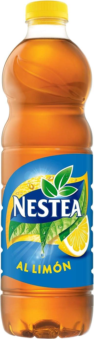Nestea - Limon, Refresco de té sin gas, 1.5 l (Pack de 6), Botella ...