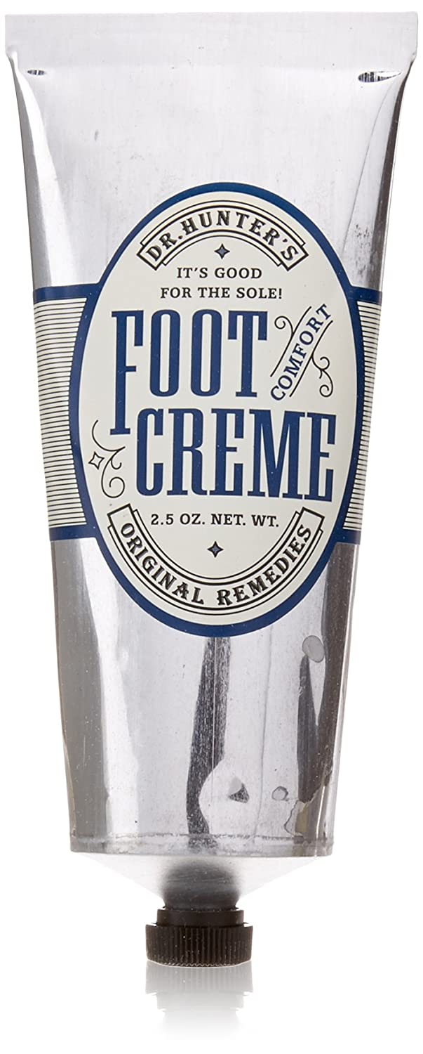 Caswell-Massey Dr. Hunter's Foot Cream - Natural Soothing Foot Cream For Foot Care - 2.5 Ounce Creme