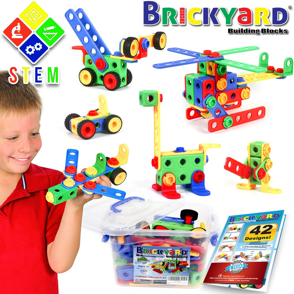 Save 40% on 163-Piece STEM Toy...