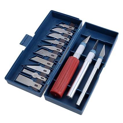 Amazon.com: Chisel - Juego de 13 cuchillos de madera para ...