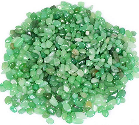 Ocn Healing 200g Crystal Tumbled Polished Natural Agate Gravel Stones For Plants And Crafts Small Size 7mm To 9mm Avg Green Aventurine Home Kitchen