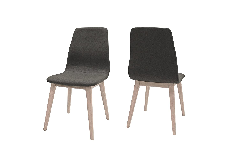 Canett Optima 4er-Set Stuhl weiß antikgrau B47 x T57 x H93 cm