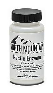 North Mountain Supply - PE-2oz Pectic Enzyme - 2 Ounce Jar