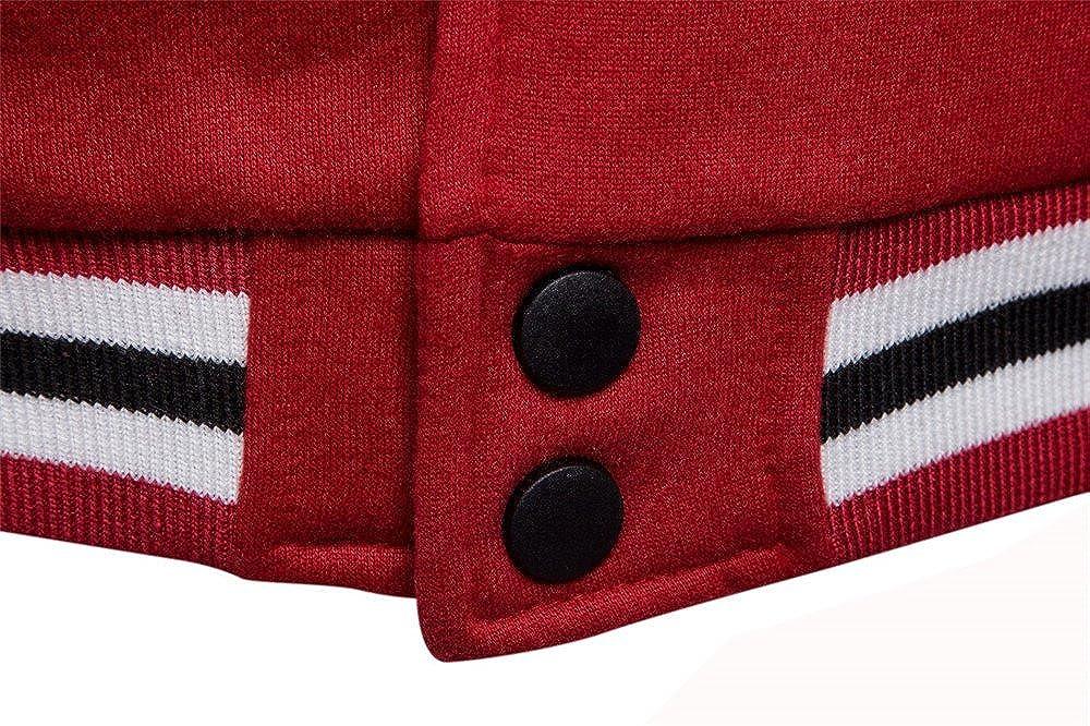 COCO clothing Beisbol Chaqueta Hombre Cazadoras Universidad Casual Jacket Patchwork Sudaderas Abrigos Juvenil
