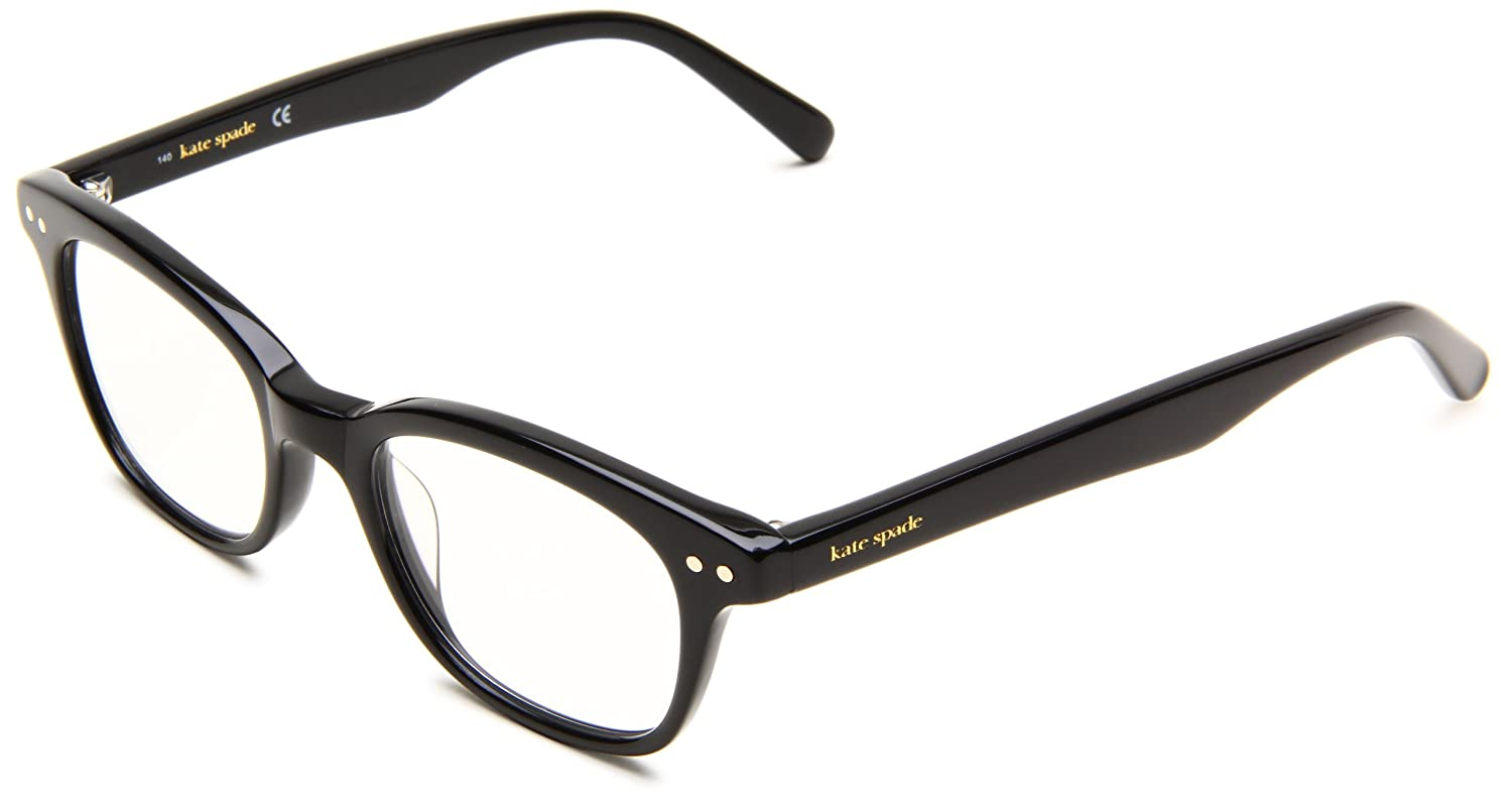 e4793294ac1e Kate Spade Women's Rebec Cat Eye Reading Glasses,Black Frame/Black Lens,One  Size: Amazon.ca: Clothing & Accessories