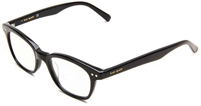 kate spade womens rebec cat eye reading glasses black frameblack lens 49