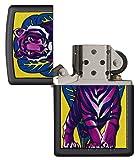 Zippo 29714 Tattoo Tiger Black Matte Lighter