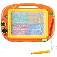 Txyk Toverboard kinderen schilderbord voor kinderen vanaf 2, met 2 magnetische stempels en 1 pen leerbord tekenbord…