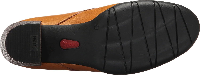 Wolky Womens Bighorn B06XKDVNKX 39 M EU|Curry Vegi Leather