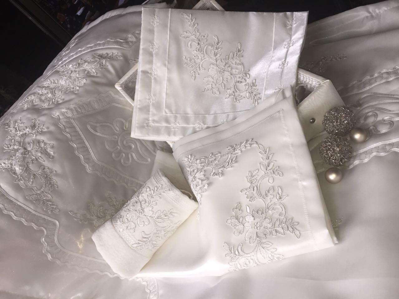 Gebetsteppich Set Ceyiz Seccade Bohca Korantasche Handtuch Seide Hochzeit