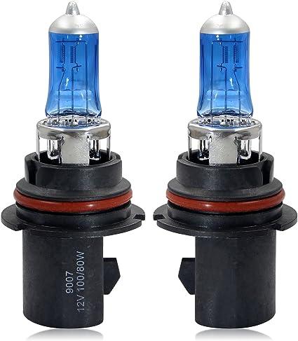 Winpower Hb5 9007 Halogen Scheinwerferlampen 100w 80w 5000k Warmweiß Fernlicht Abblendlicht Lampe 12v Auto Birne 2 Stücke Auto