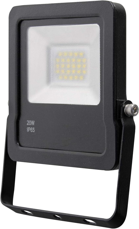 Proyector LED slim 20 W Luz fría: Amazon.es: Bricolaje y herramientas