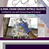 Nitrile Exam 3.5 Mil Gloves- Powder Free, Latex