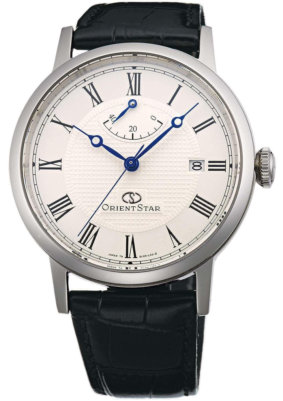 caabfd03ff Amazon | [オリエント]ORIENT 腕時計 ORIENTSTAR オリエントスター クラシック 機械式 自動巻(手巻付) ウォームホワイト  WZ0341EL メンズ | ORIENT(オリエント時計) ...