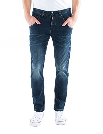 Timezone Men's Regular Harold Rough Straight Jeans: Amazon