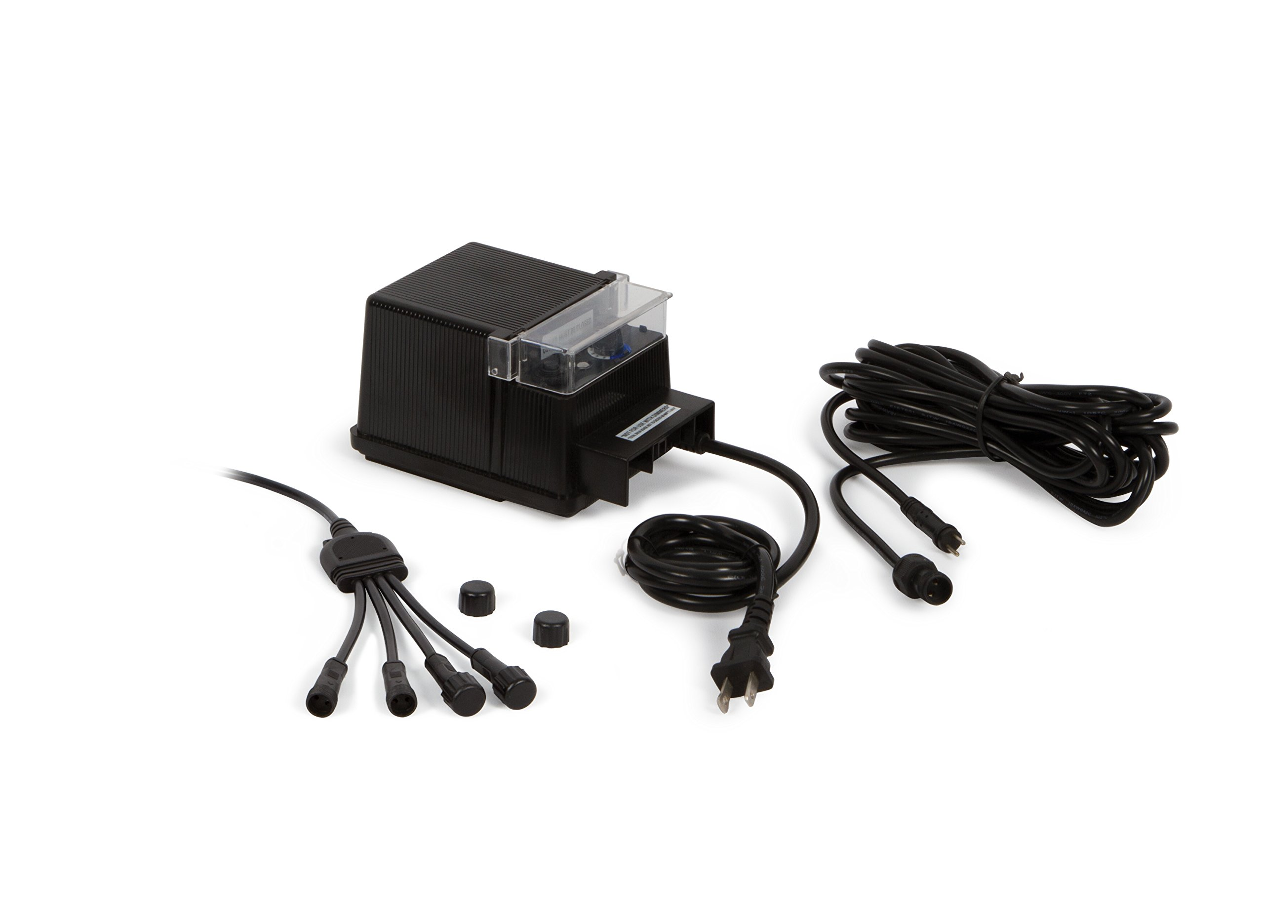 Atlantic Water Gardens 10-way Wiring Kit for Warm White Lighting, Includes 88-watt Transformer