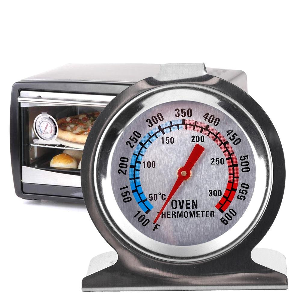 WXLAA Food Meat Temperature Stand Up Dial Oven Thermometer Gauge Gage