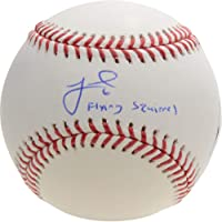 "$103 » Jeff McNeil New York Mets Autographed Baseball with""Flying Squirrel"" Inscription - Fanatics Authentic Certified"