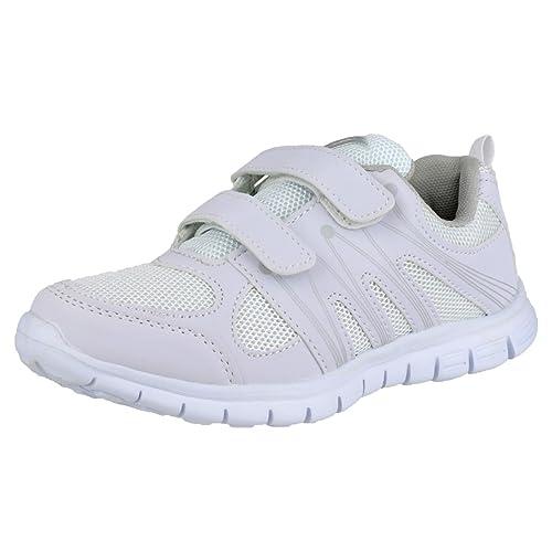 Mirak- Zapatillas de deporte Milos para mujer con velcro: Amazon.es: Zapatos y complementos
