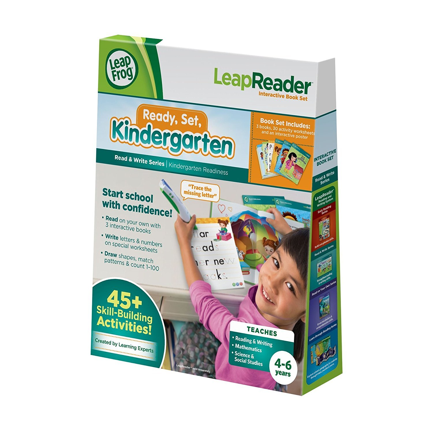 LeapFrog LeapReader Read and Write Book Set: Ready Set Kindergarten (for LeapReader) [並行輸入品] B077P5XN7J