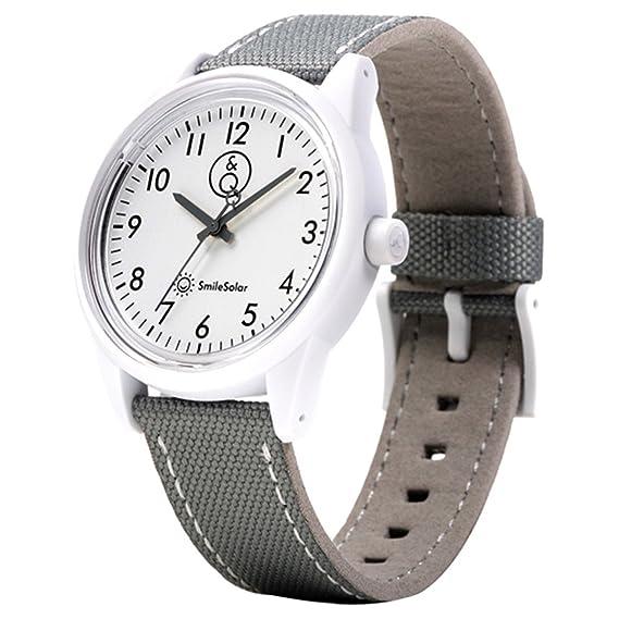 Reloj de cuarzo, impermeable, sin cambios de pila (carga solar). RP08J004Y: Amazon.es: Relojes