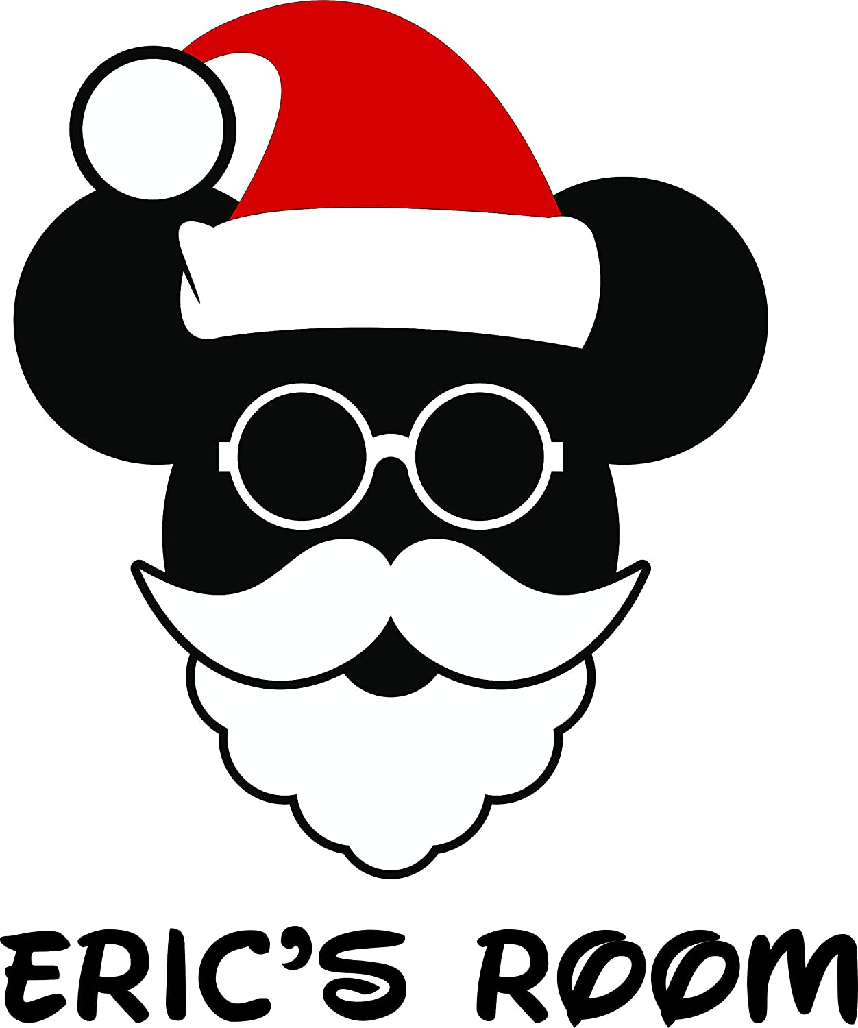Christmas Minnie Mouse Disneyland.Amazon Com Santa Clause Design Christmas Cheer Quote Quotes