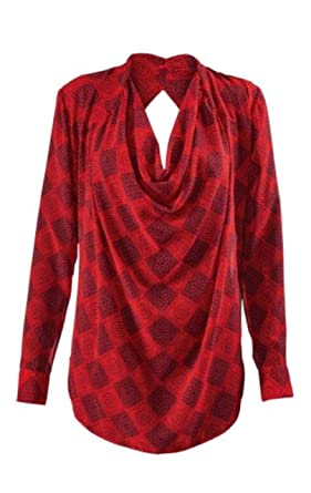 dfb41fe2d6d8c0 CAbi RED Diamond Shirt at Amazon Women's Clothing store: